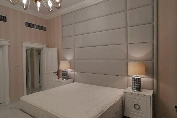 headboard upholstery and design
