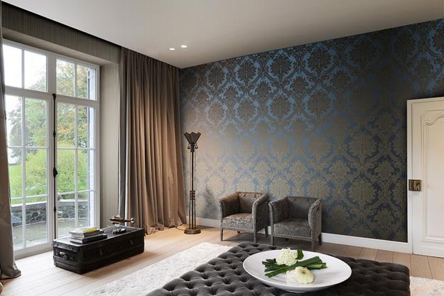 Textile Jacquard Patterns Modern Wallpaper Designs 1 Al