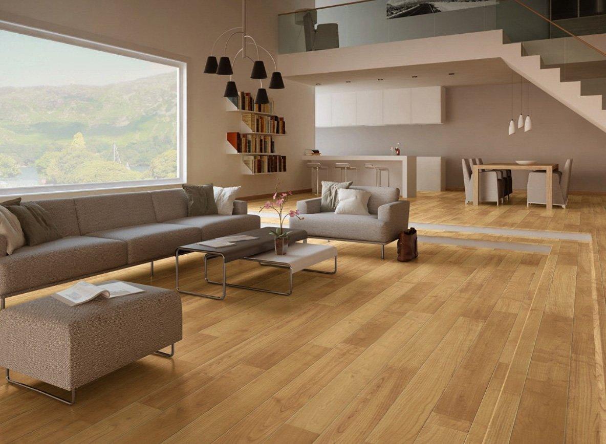 8-parquet-laminato-per-open-space-moderno-soggiorno-cucina ...